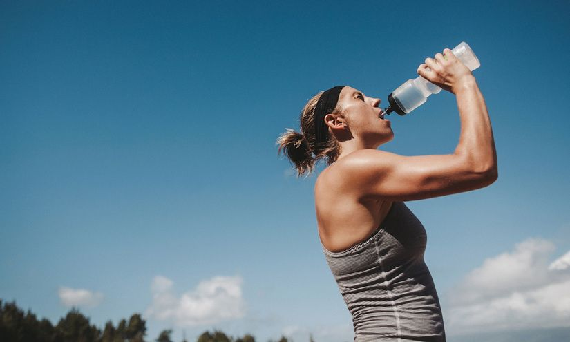 Dehydration are you drinking too much water