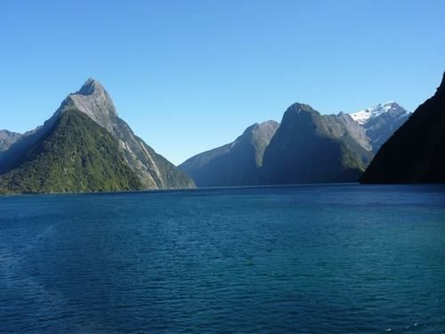 Milford Sound New Zealand - beautiful and peaceful.  Need to go again sometime!