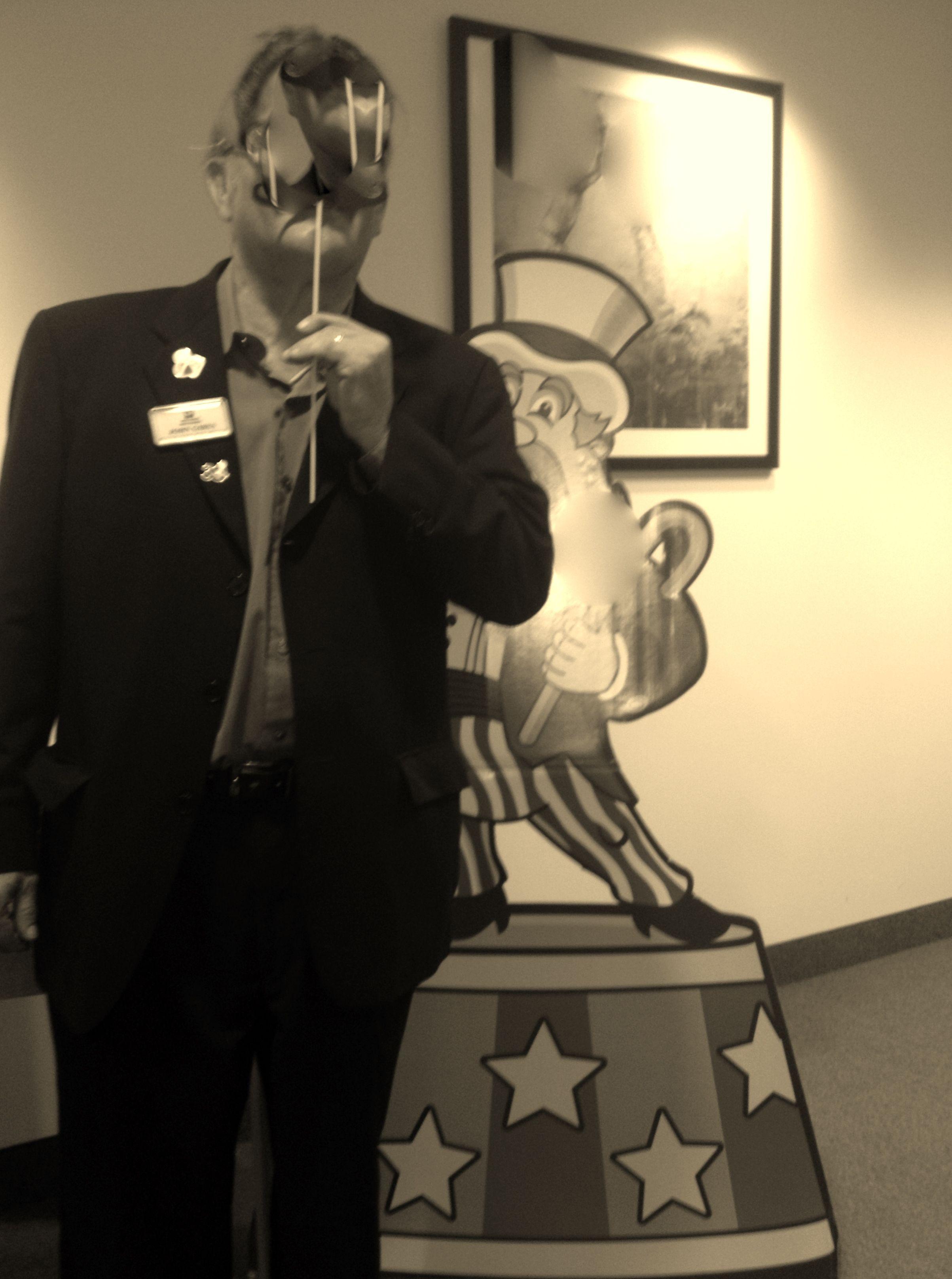 john at Miami children's hospital Hot air balloon rides