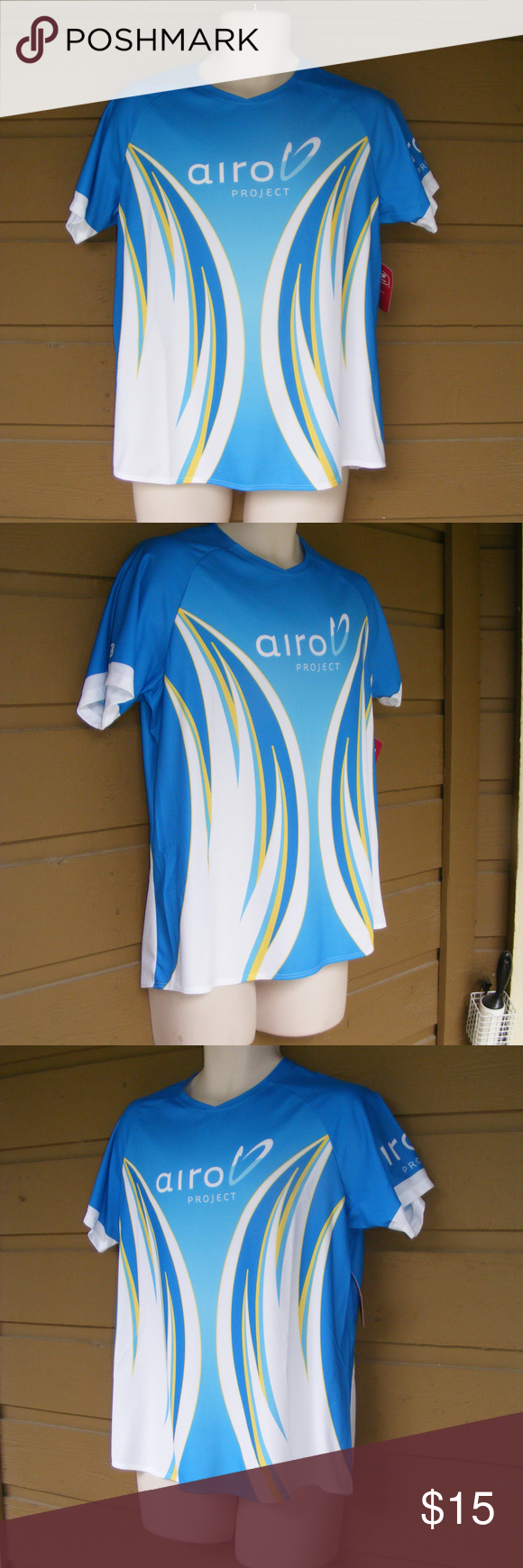new!! SUGOI Tech Shirt, Running/Exersize Raglan Sugoi