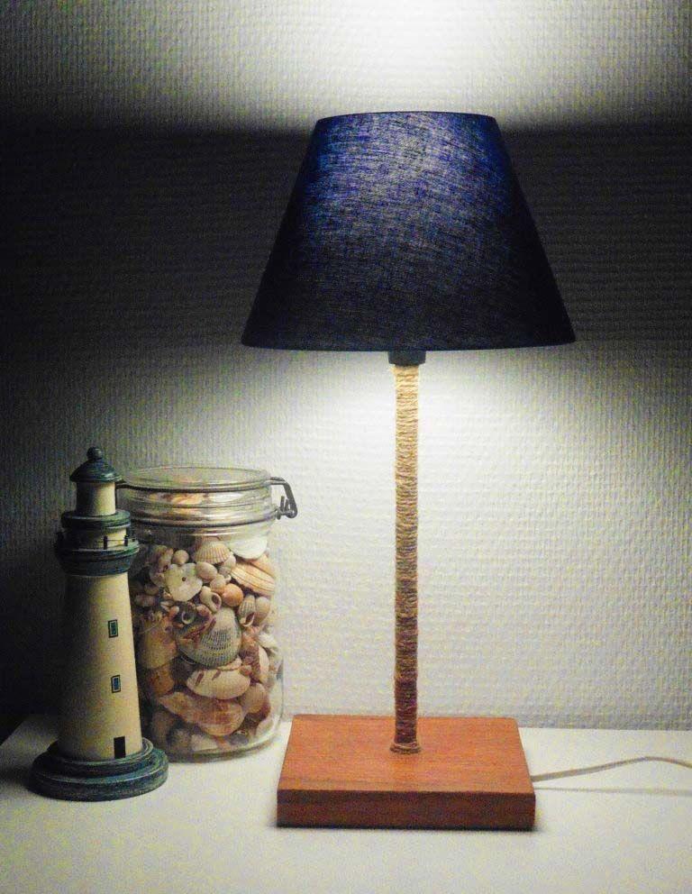 fabriquer sa lampe de chevet soit mªme c est facile
