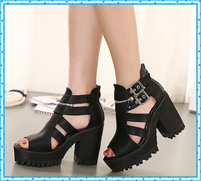 Туфли для летнего черного
