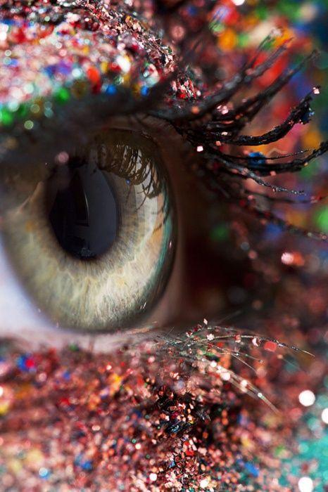 Sparkly eye...