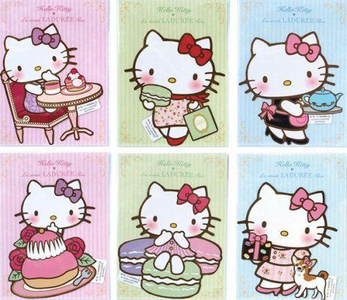 Hello Kitty for Laduree, of course