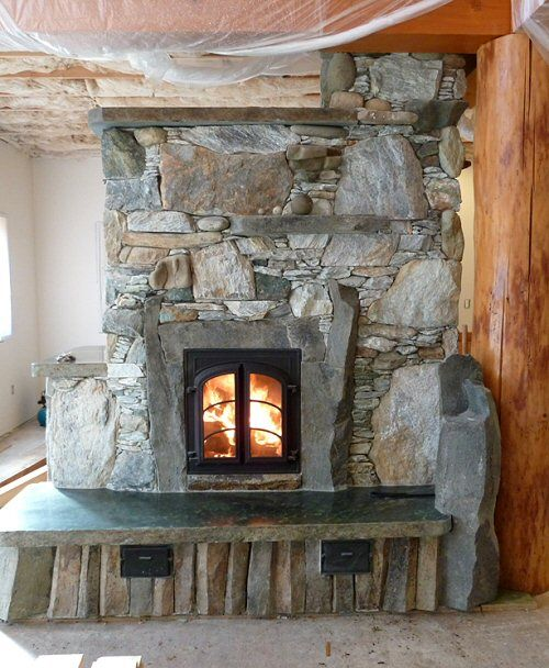Masonry stoves: how to make one from
