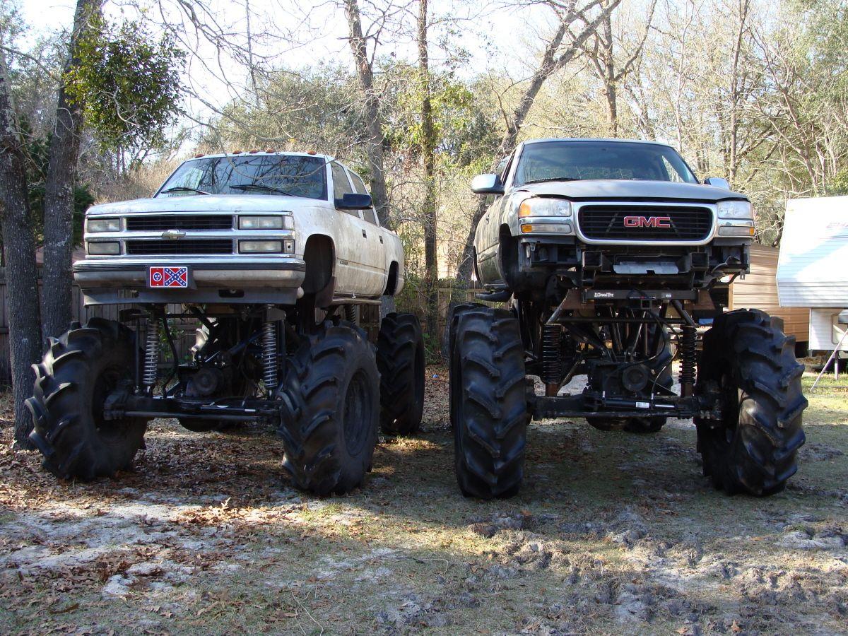 Build A Gmc Truck >> 4x4 Mud Trucks 00 Gmc Mud Truck Build 72 Tires What