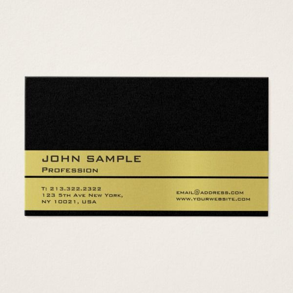 Professional black gold premium pearl finished business card custom professional black gold premium pearl finished business card custom professional business cards for teachers and tutors reheart Gallery