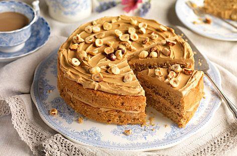 Recipe hazelnut mocha cake