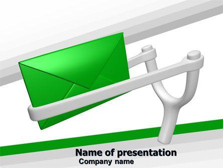 wwwpptstar powerpoint template letter  Letter - letter of presentation