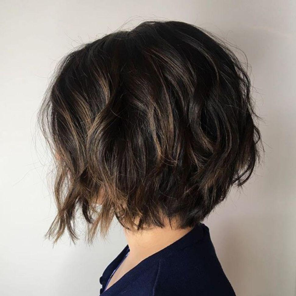 30+ Thick hair choppy bob trends