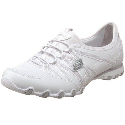 Amazon.com | Skechers Women's Bikers Dream Come True, White/Blue, US 6.5 W  | Fashion Sneakers. Sketchers ShoesSkechers ...