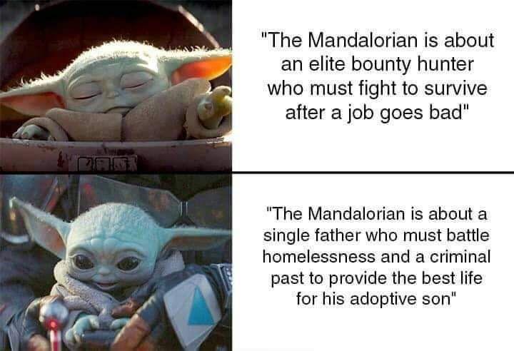 Wholesomememes I Love The Mandalorian Star Wars Memes Star Wars Humor Star Wars Fandom