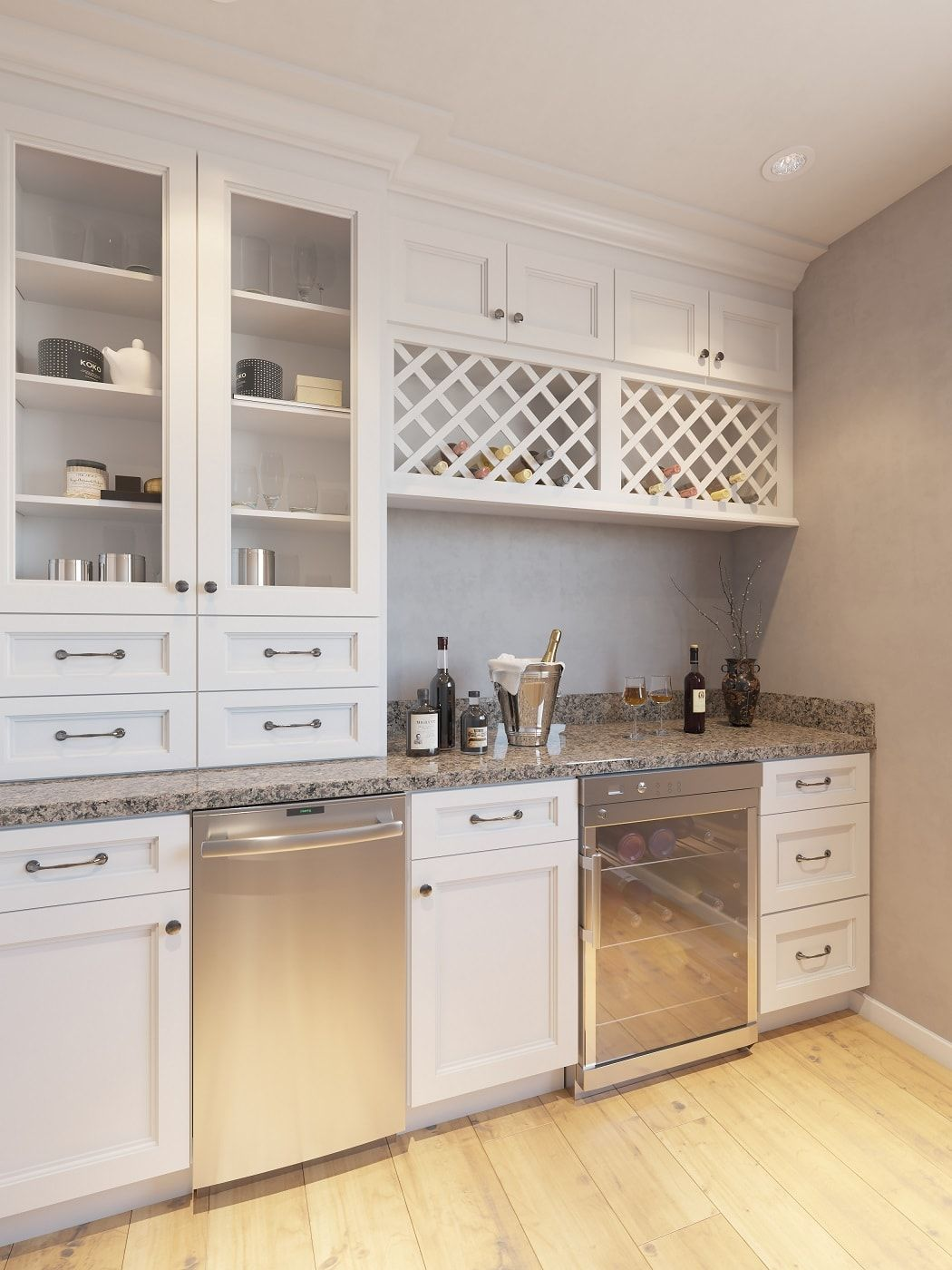 Providence White Sample Door in 2020 | Kitchen cabinets ...