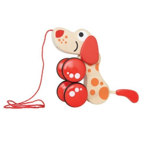 Hape Walk-A-Long Puppy Pull Toy | Smitten for the Wee Generation.