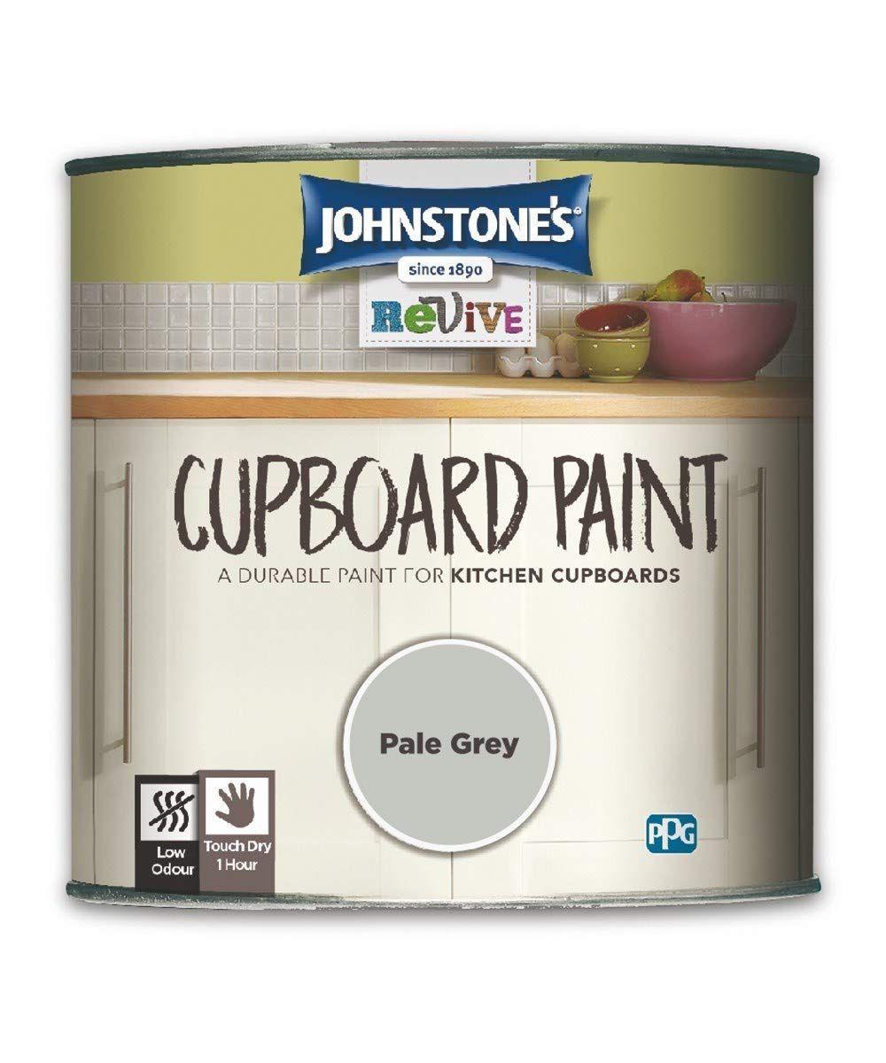 750ml Johnstones Revive Cupboard Paint Pale Grey Amazon Co Uk Diy Tools Best Paint For Kitchen Kitchen Cupboards Paint Johnstone