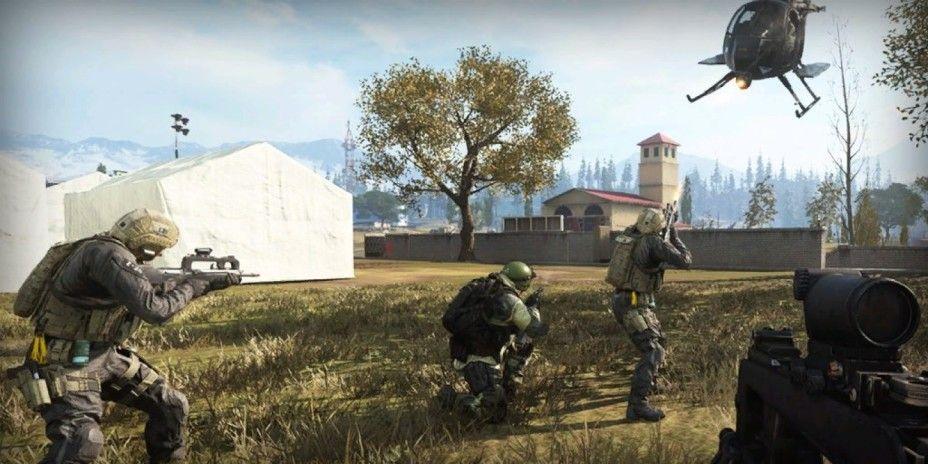 Warzone Battle Royale Map In Call Of Duty Modern Warfare In 2020