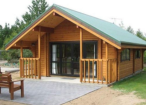 Chalets peque as casas rusticas de campo casas de for Casas de madera pequenas