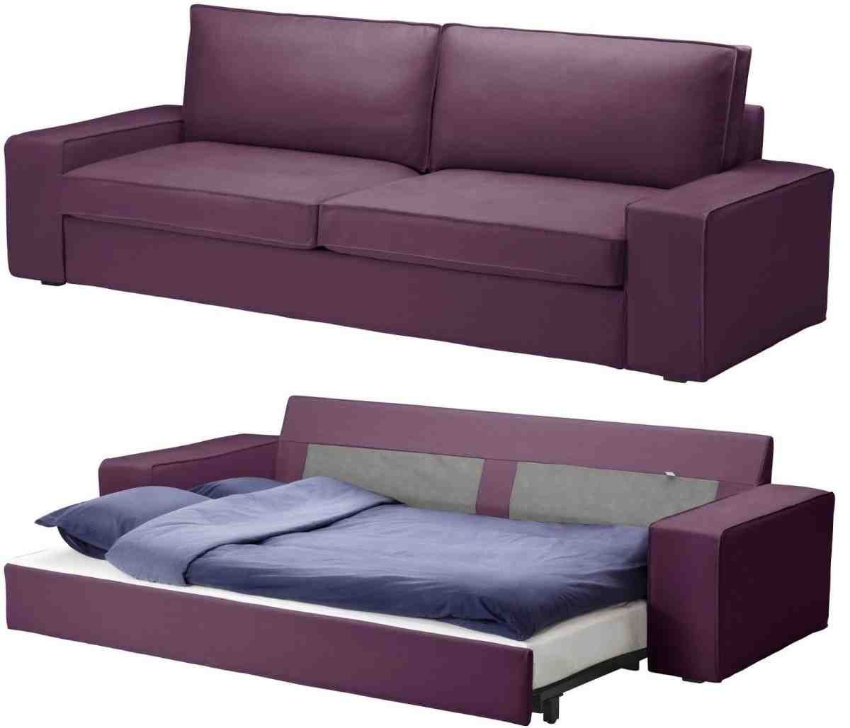 Sofa Bed Convertible Futon Purple Linen Upholstered Chaise Lounge Sleeper Couch Sofafurniture Contemporary Upholstered Chaise Sofa Bed Frame Fabric Sofa Bed