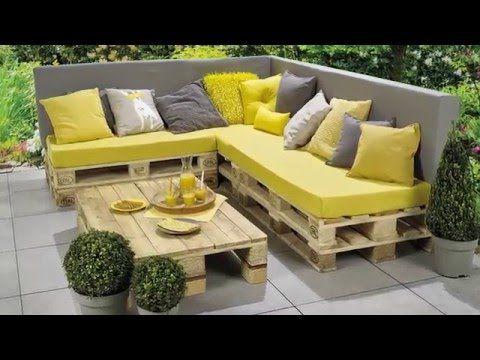 1001 Idees Pour Des Meubles De Jardin En Palettes Astuces Espaces Exterieurs Meuble Jardin Palette Meuble Palette Palette Jardin