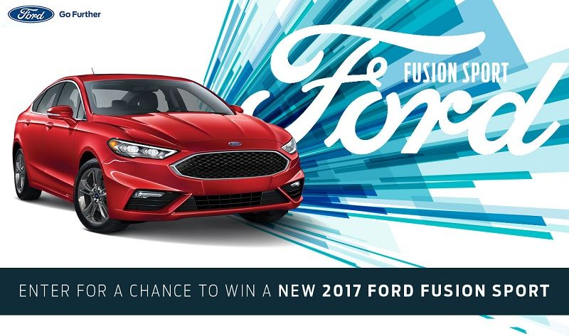 Win A 2017 Ford Fusion Sport Vehicle Giveaways Ford Car
