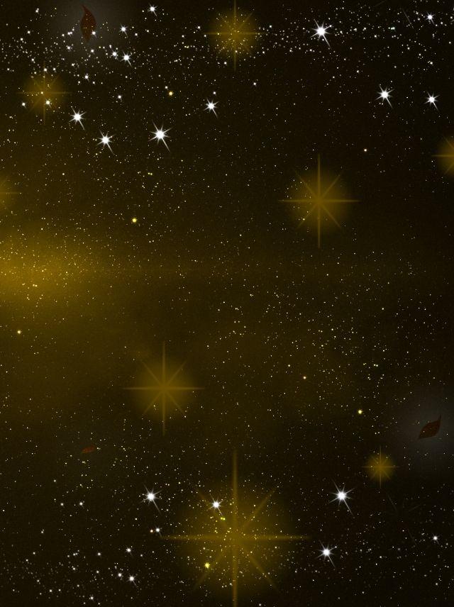 النجوم الذهبية حالمة جميلة خلفية السماء المرصعة بالنجوم Bright Background Starry Sky Sky Images