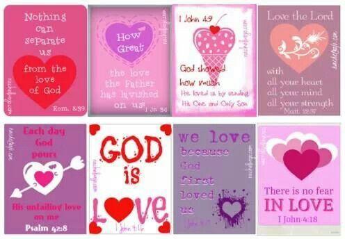 Bible Verse Valentine Cards Aww Valentine Pinterest Cards