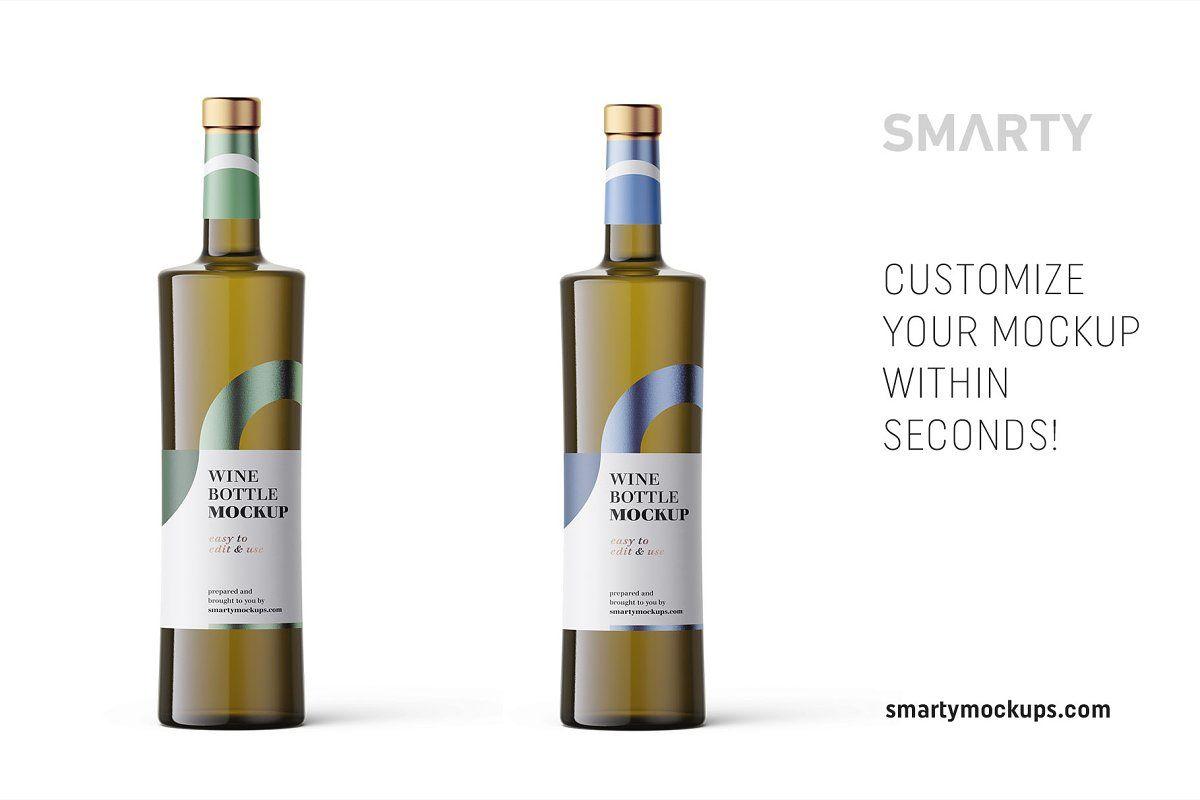White Wine Mockup Sponsored Project Paste Easy Cap Wine Bottle Bottle Mockup Rose Wine Bottle