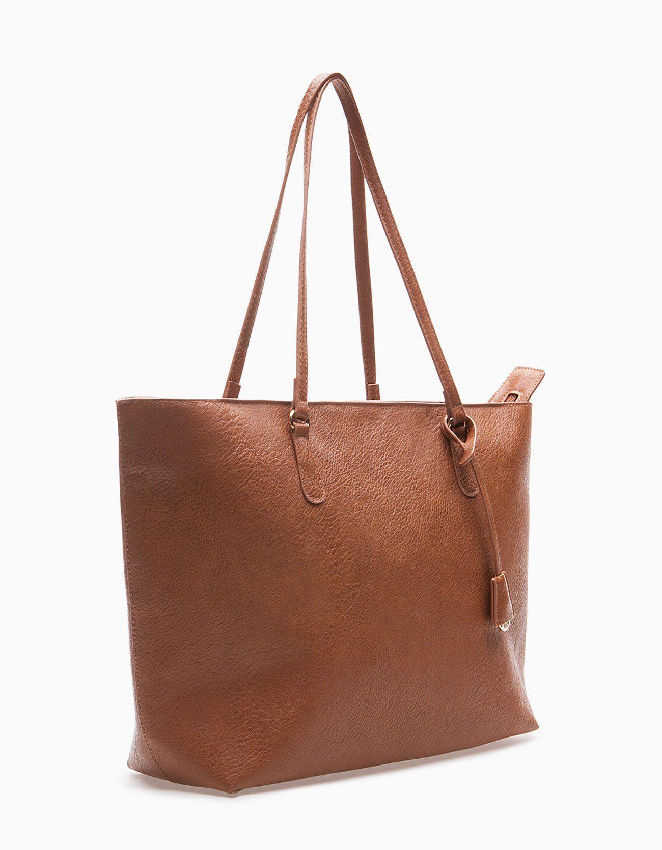 7526082d6 Bolso shopper - BOLSOS - MUJER | Stradivarius Panamá | Bags en 2019 ...