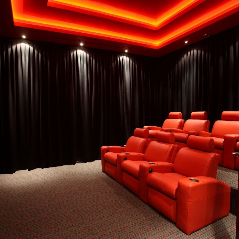 21 Incredible Home Theater Design Ideas Decor Pictures: Lighting In A Home Theater Should Be Subtle And Help