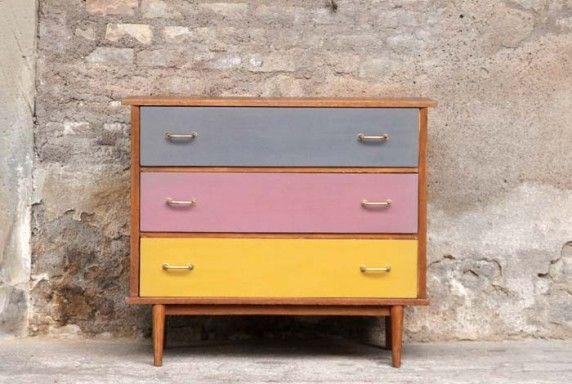 Relooking de meuble repeindre des meubles Pinterest Cabinet - Repeindre Un Meuble En Chene