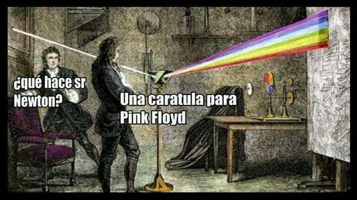 Pin By Profe Wizer On Student Board Pink Floyd Isaac Newton Art