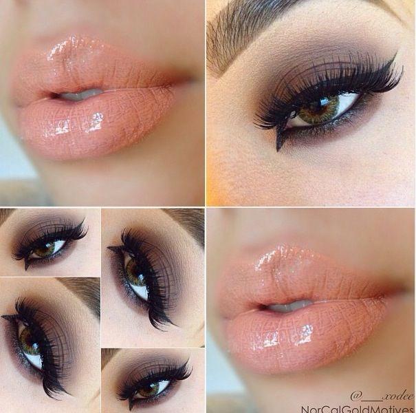 #makeup, #lipstick, #eye #makeup #nude #lips