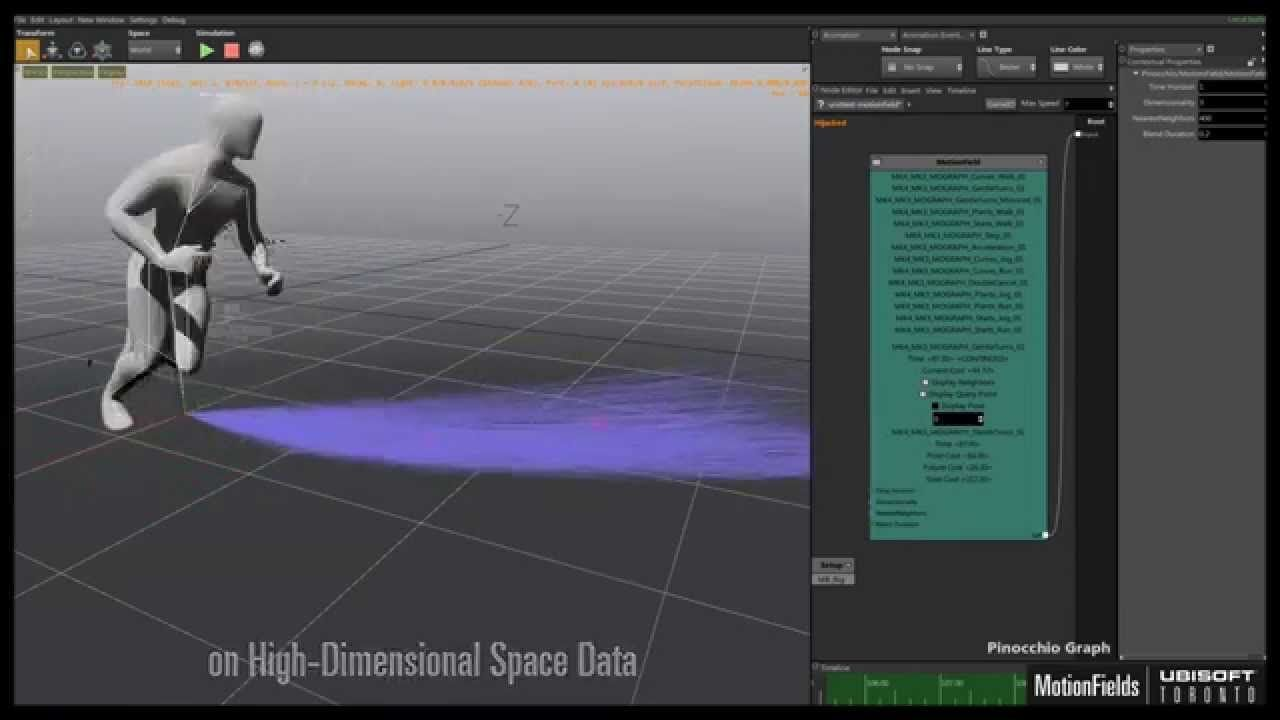 nucl.ai Conference: Ubisoft Toronto's Motion Fields Technology