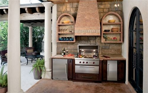 Grill Under Covered Patio Google Search Outdoor Kitchen Appliances Kitchen Design Plans Outdoor Kitchen