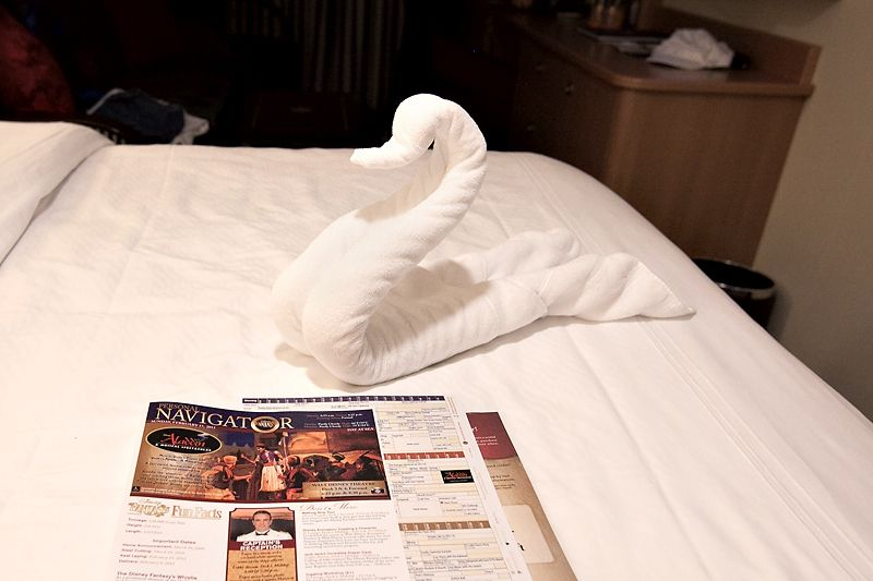 disney cruise line towel folds | When I worked for Disney they used to fold towles in shapes and sizes ...