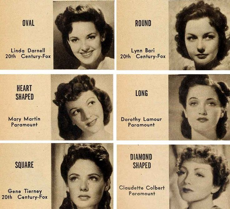 1940s Hair And Makeup Secrets For Your Face Type Vintage Fashion Style Make Up And Hair 40s Photo Print Ad Bombshell Hair 1940s Hairstyles Retro Hairstyles