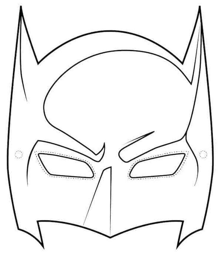 Batman Coloring Pages For Kids 2 Batman Mask Template Batman Birthday Party Batman Birthday