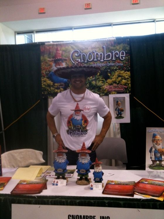Who's that crazy guy in the Sombrero? That's Gnombre co-founder, Aram Chavez.