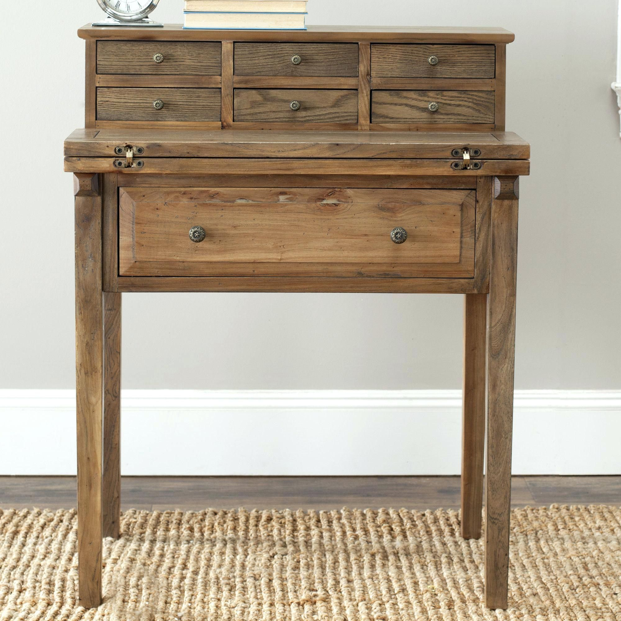 Old fashioned writing desk 26