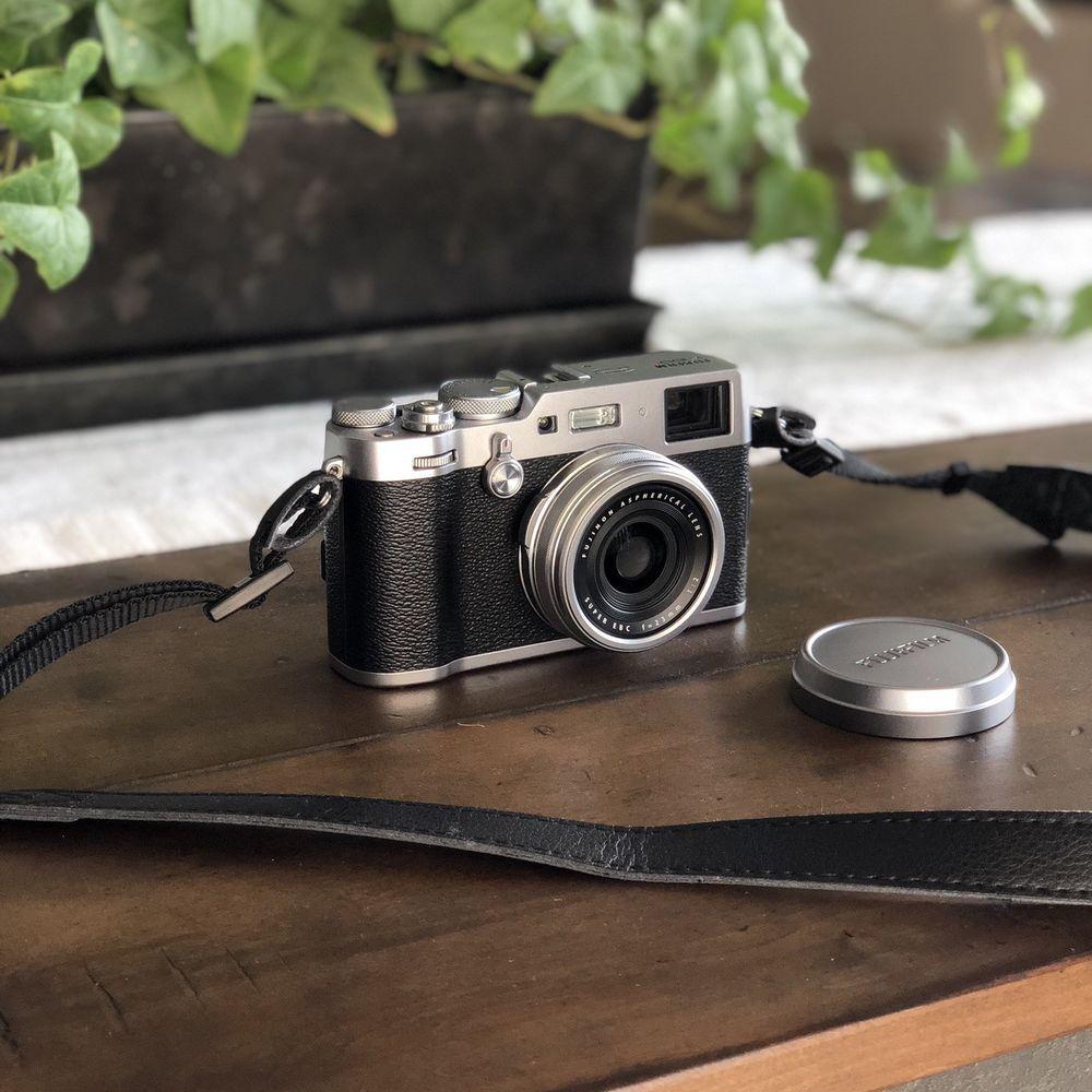 Fujifilm X100F Silver Wi-Fi Digital Camera w/ Accessories