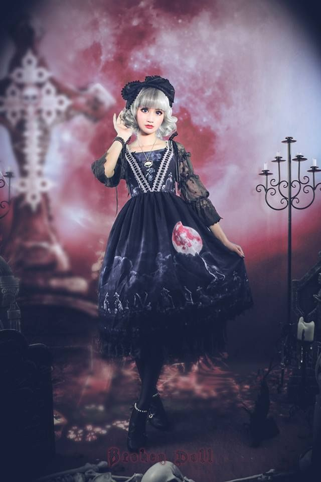 The Last Time Reminder: Broken Doll ~Moon Wolf~ Series WILL BE NOT AVAILABLE for shopping in 8 hours later >>> http://www.my-lolita-dress.com/newly-added-lolita-items-this-week/broken-doll-moon-wolf-series