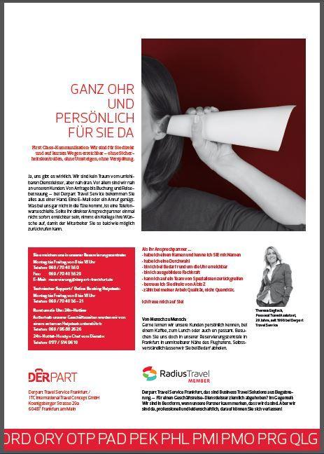 Radius presented on www.derpart-frankfurt.de sales brochure