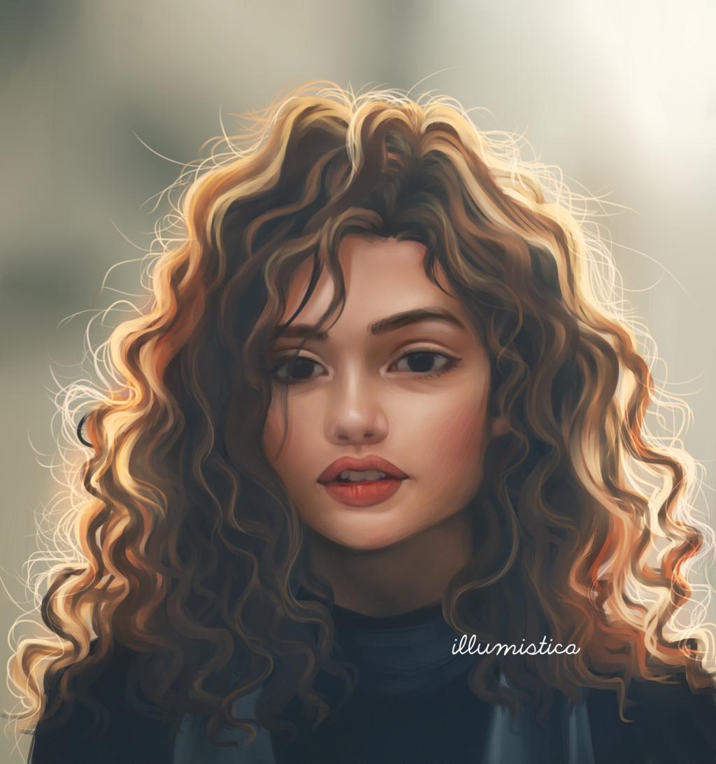 Dark By Illumistica Digital Art Girl Art Girl Girly Art