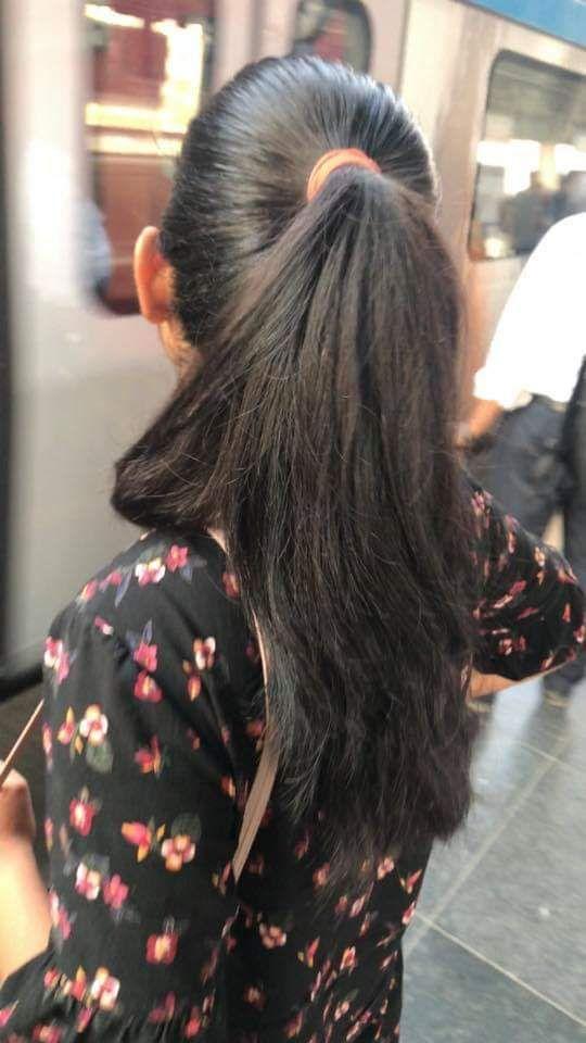 Pin By Sujendran On Hair Long Ponytail Hairstyles Ponytail Hairstyles Indian Hairstyles