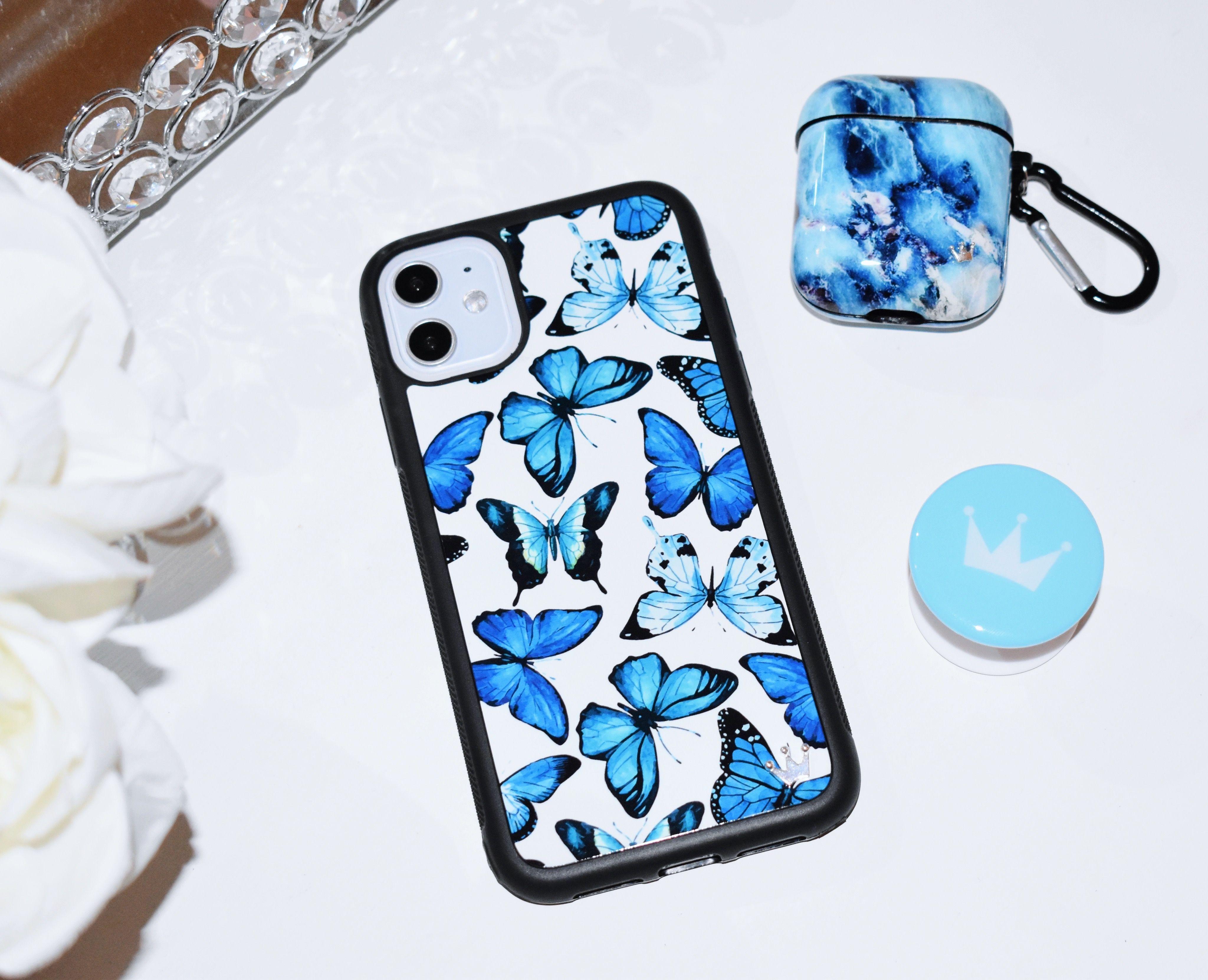 Lilac reign cases bluu butterflies iphone 11 case bluu