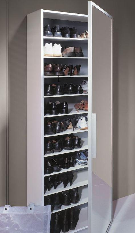Genial Schuhschrank Spiegeltur Schmaler Schuhschrank Garderobe Schuhschrank Spiegel Schuhschrank