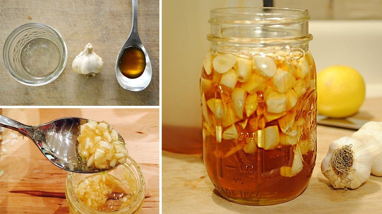 health benefits of eating honey and garlic mixture (recipe