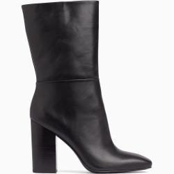 Photo of Calvin Klein Stiefel aus Leder mit Absatz 38 – Extra Sale Calvin Klein