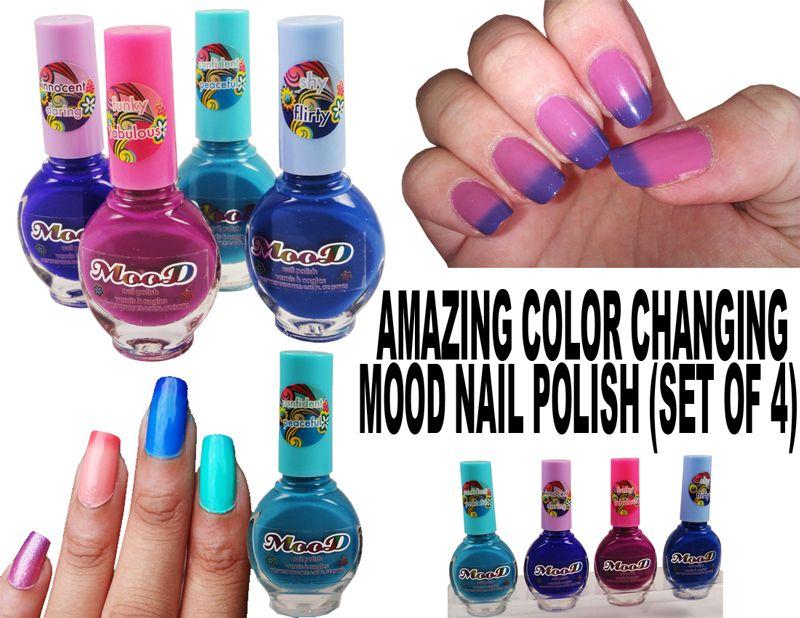 Nail polish color change