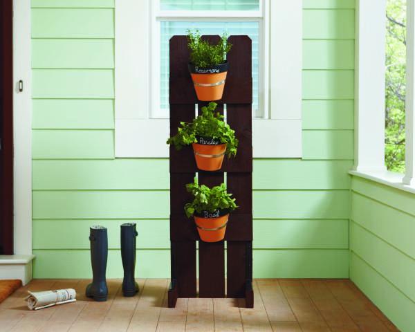 Charmant Vertical Herb Garden